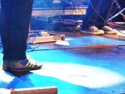 Skydrunk'sche Füße on stage