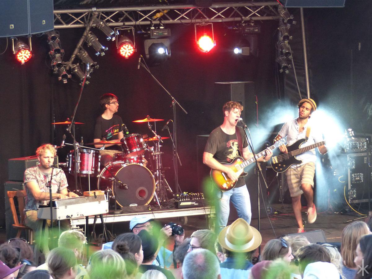 Tonair auf dem Stereowald Festival 2015