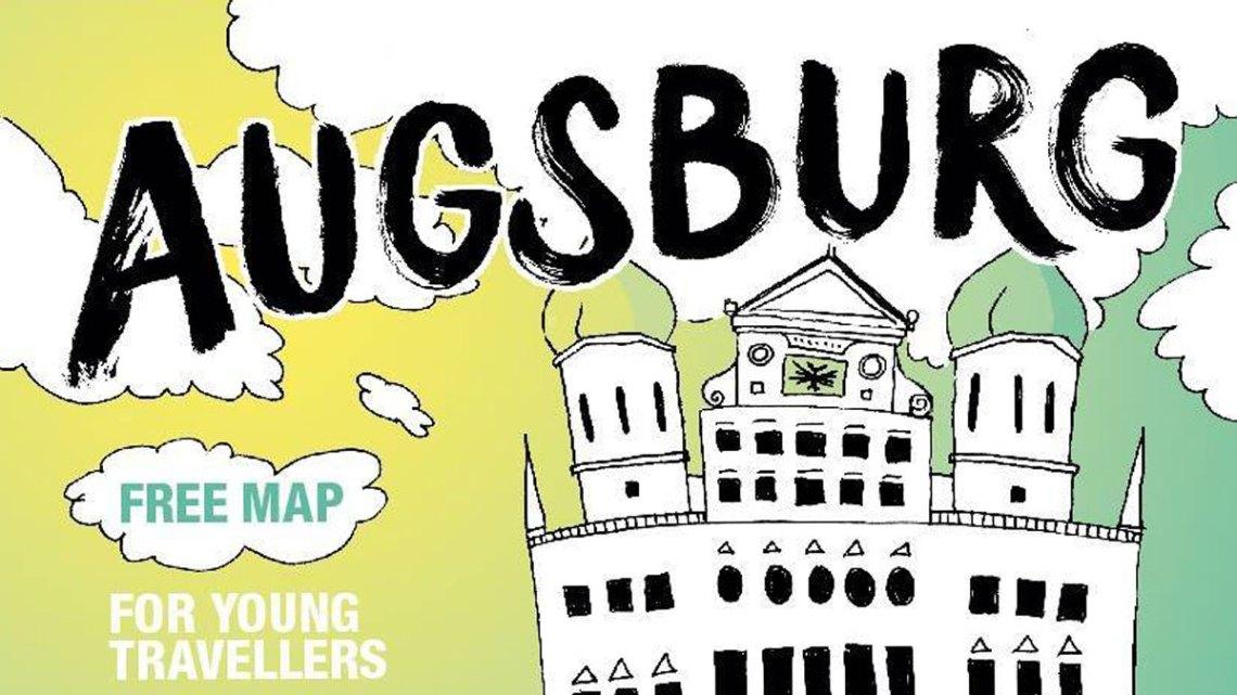 UST-IT Augsburg, die Karte für Augsburg von Locals