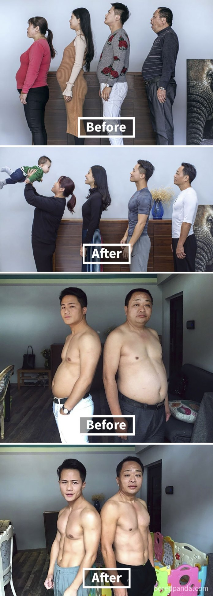 Unbelievable Before & After Transformation