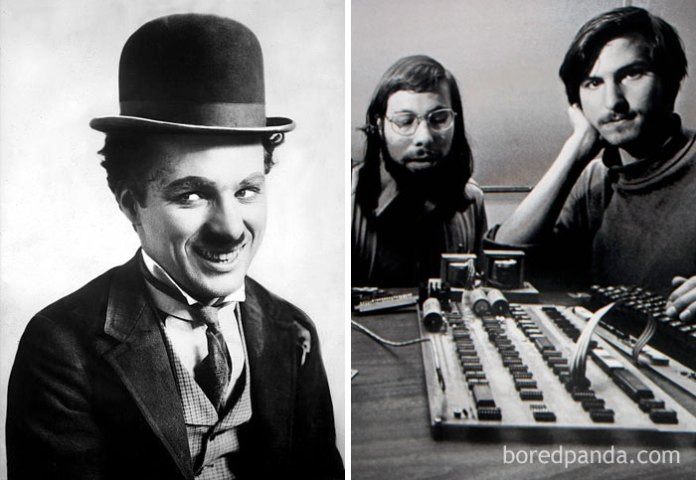 Charlie Chaplin Died In 1977, The Same Year Apple Was Incorporated