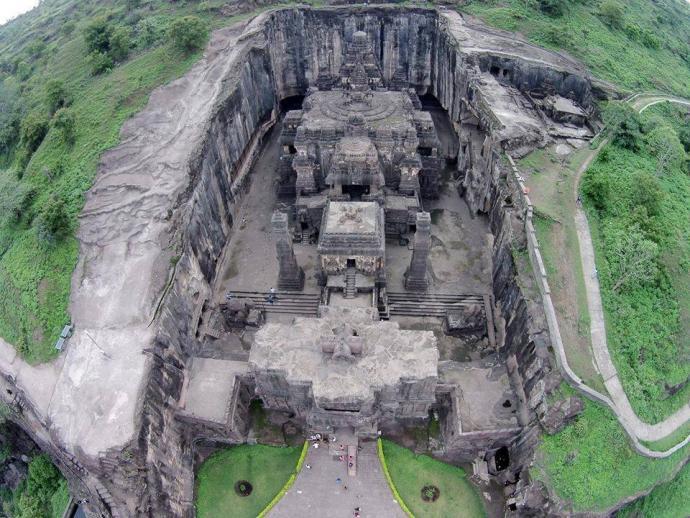 The Kailasa Temple