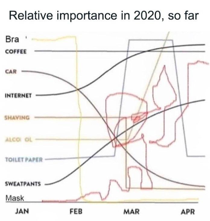 year 2020 graph
