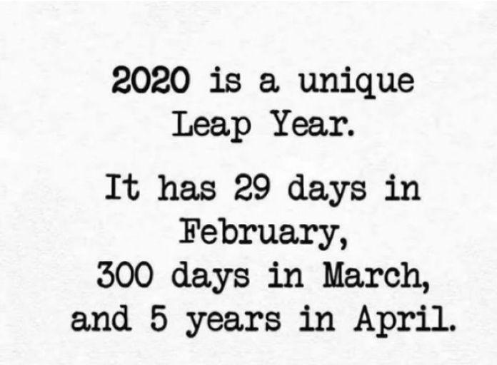 Unique leap year