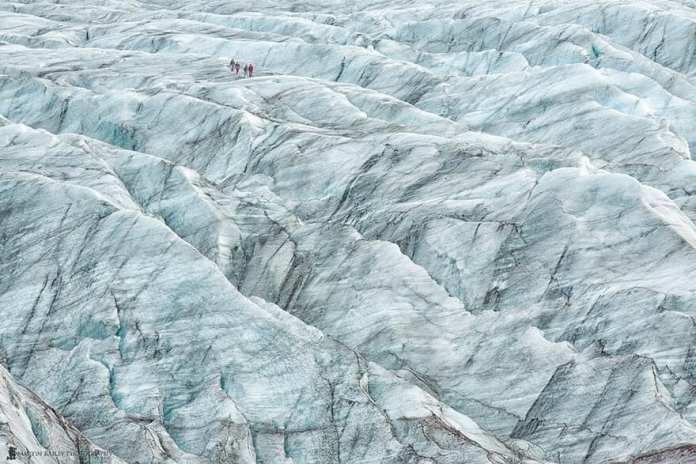 Skaftafell Glacier in Reykjavik, Iceland
