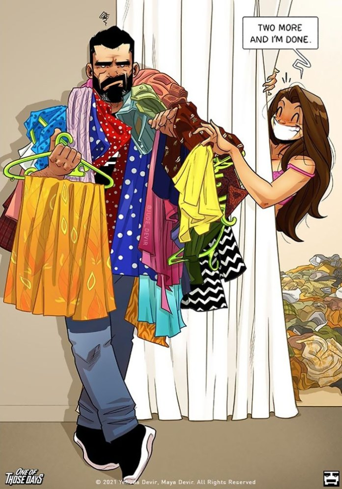 Reallocation Of Clothing