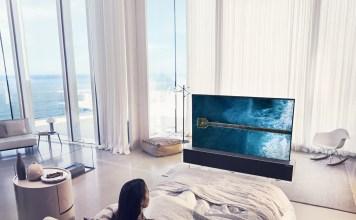 LG SIGNATURE OLED TV R (model 65R9)