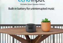 Amazon Echo Input Portable