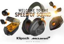 Klipsch x McLaren T10 True Wireless in-ears