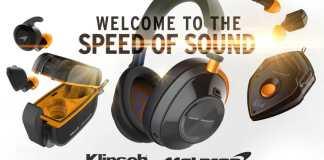 Klipsch x McLaren T10 True Wireless in-ears