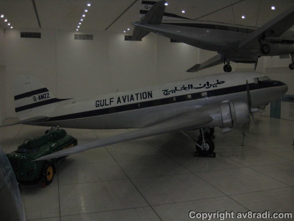 Close up of the DC-3 Dakota