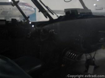 External view of the flight deck