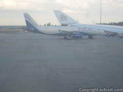 At the Gate…beside an IndiGo A320