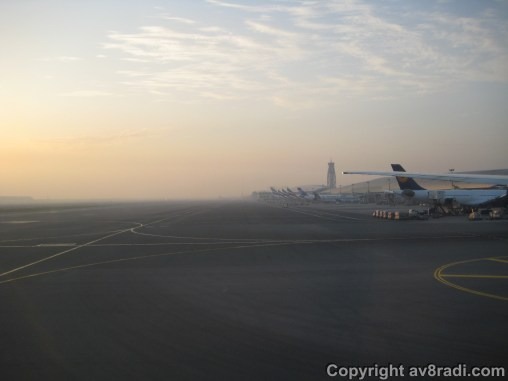 DXB – the sun is rising!