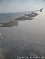 Flying over the Al Nahda area