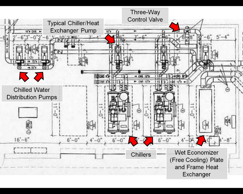 Water Chiller Piping Schematic Diagram, Water, Free Engine