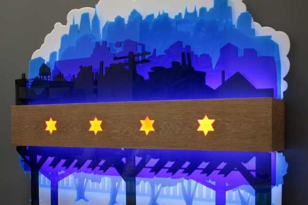 ChicagoFlagLightbox-WoodAcrylic-CustomDesignBuild-Installation-Background