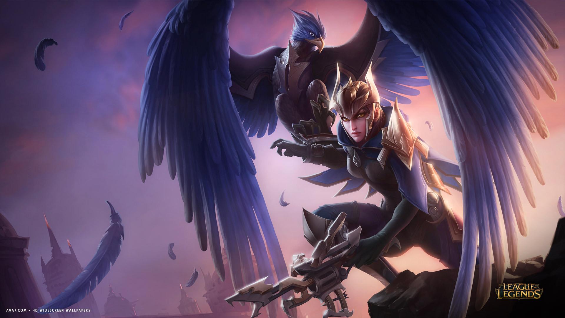 Cute Teemo Wallpaper League Of Legends Game Lol Quinn Valor Bird Hd Widescreen