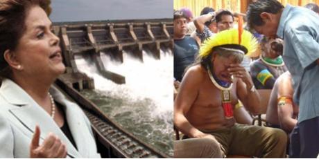 Ligue para a presidente Dilma: Não a Belo Monte!