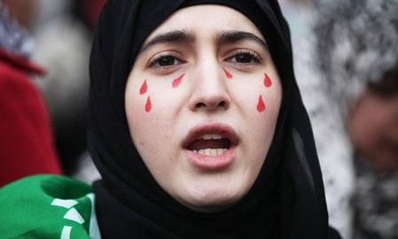 Syria protest: