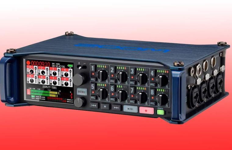 REVIEW ZOOM F8: un pequeño gigante para profesionales de la captación de sonido