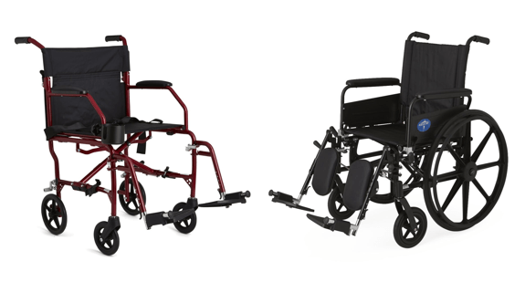 transport wheel chair allen and roth cushions manual wheelchairs vs chairs avacare medical blog