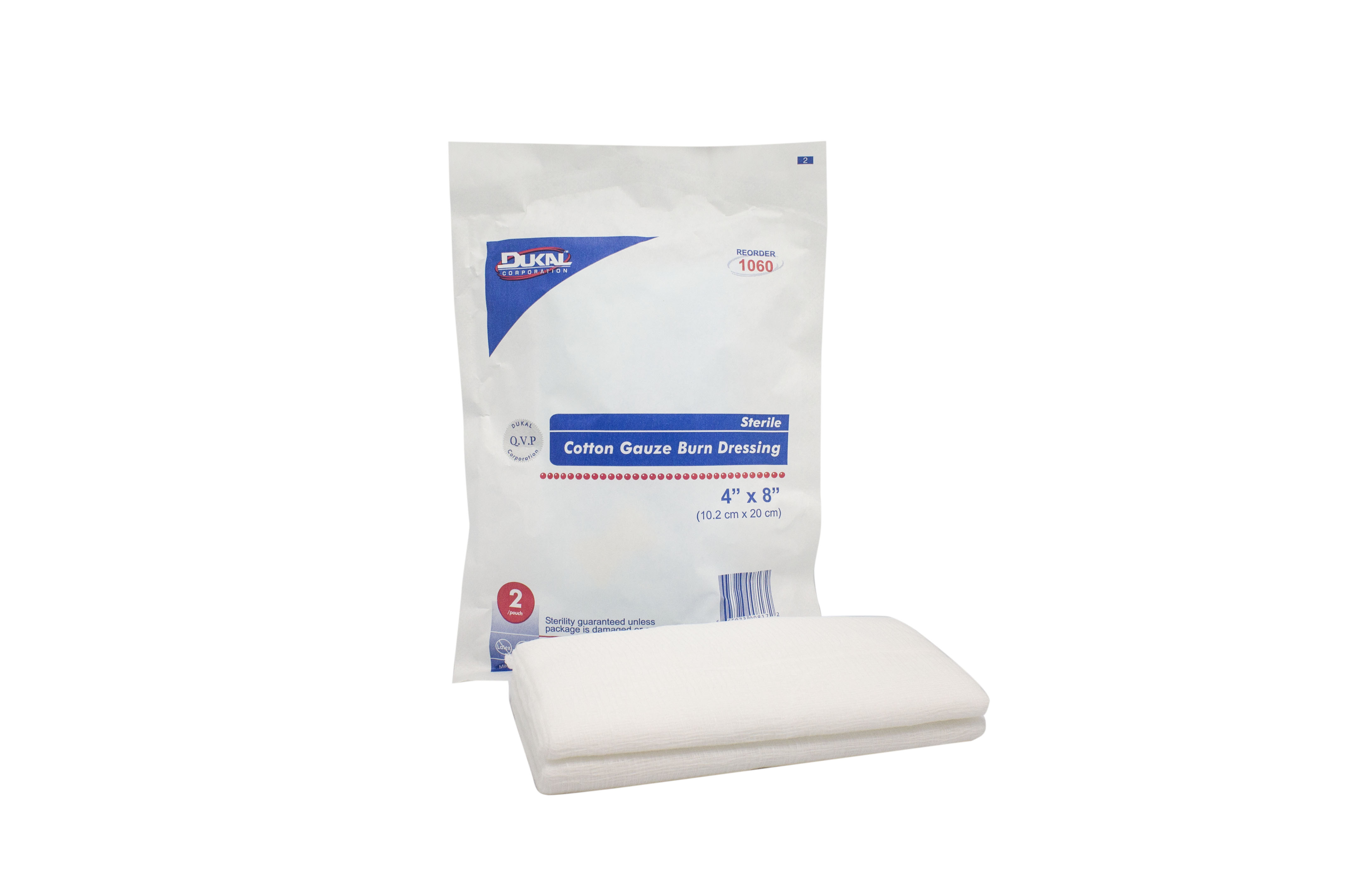 DUKAL Sterile Burn Gauze Pad   AvaCare Medical