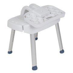 Shower Chair With Back And Armrests Ergonomic Pantip Folding Avacare Medical