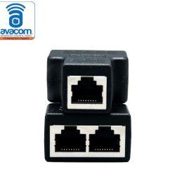 rj45 splitter adapter female socket interface ethernet cable 8p8c coupler [ 1000 x 1000 Pixel ]