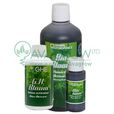 General Hydroponics GHE Bio Bloom Family