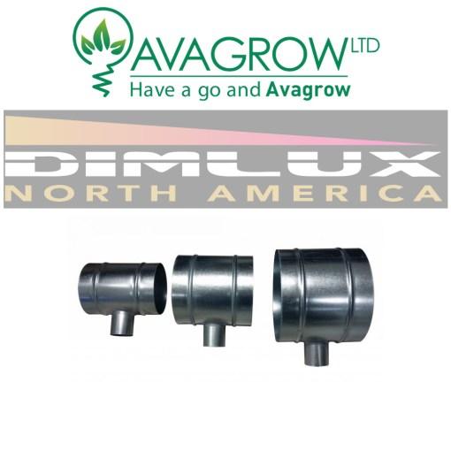 Dimlux 50mm - 150mm T Piece