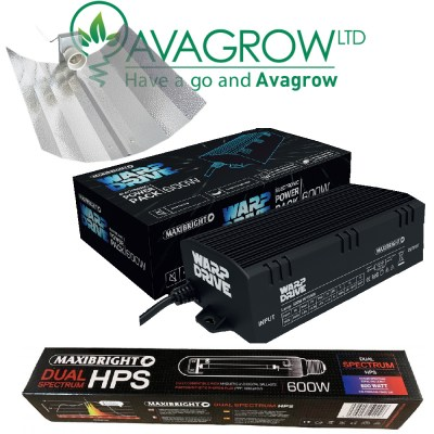 Maxibright 600w Warpdrive Digital Light Kit