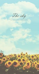 sunflower quotes wallpapers hd iphone sky backgrounds keep nature summer plus shining phone background cute android mobile9 spring typography desktop
