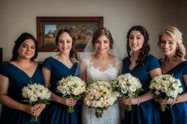 bridal party in Melbourne