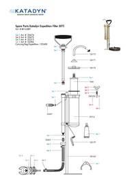 Katadyn Expedition KFT Filter Small Parts Kit 20674