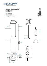 Katadyn Pocket Filter Small Parts Kit 20648