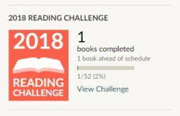goodreads goal ahead of schedule