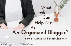 writing and scheduling posts