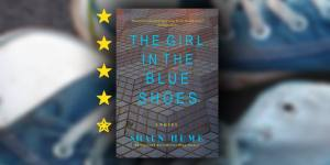 girl in the blue shoes