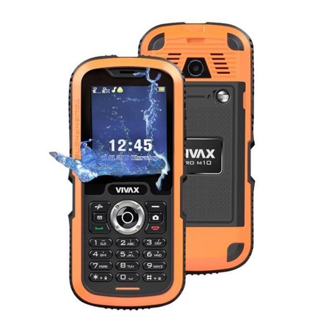 avalon ltd pljevlja, Smartphone-VIVAX SMART PRO M10 orange otporan na vodu, udarce i prašinu