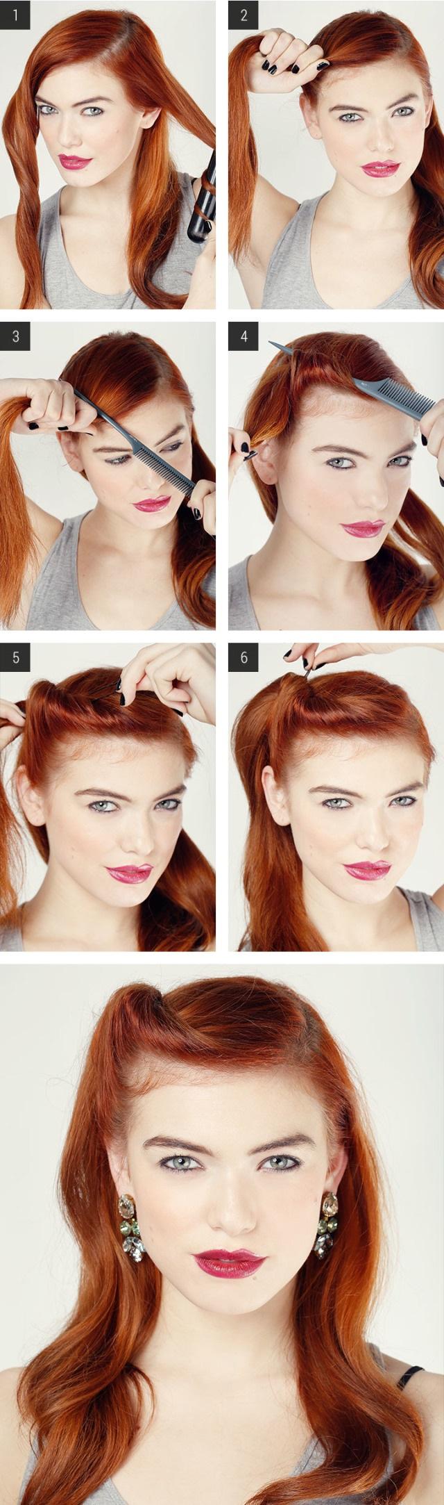 17 ways to make vintage hairstyles | avalon school of