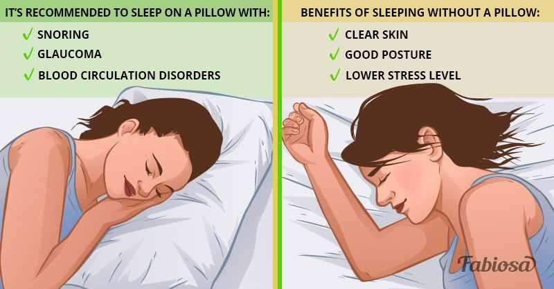 sleeping without a pillow 7 pros 5