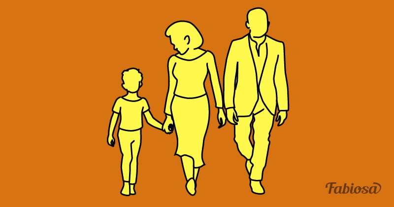 Задачка на логику: на какой картинке самая дружная семья?