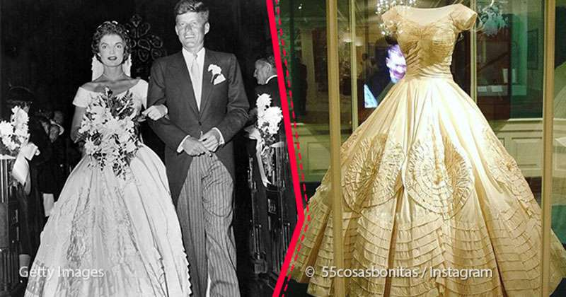 Story Of How Jacqueline Kennedy's Wedding Dress Was Irreve