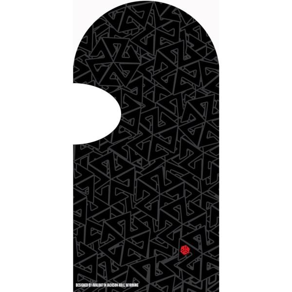 AVALON7 Standard Black balaclava for skiing or snowboarding