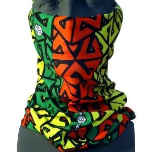 AVALON7 Rasta Tshield Snowboard Mask