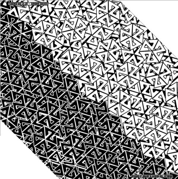 AVALON7 black and white bandaril snowboard bandana