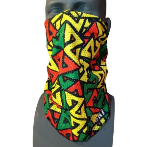 Mesh Fishing Bandana facemask rasta