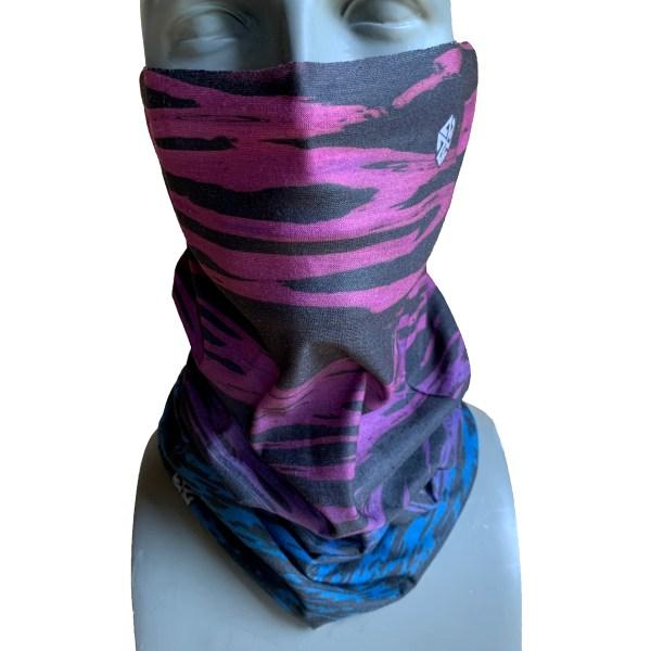 AVALON7 tidebreaker purple blue fishing facemask