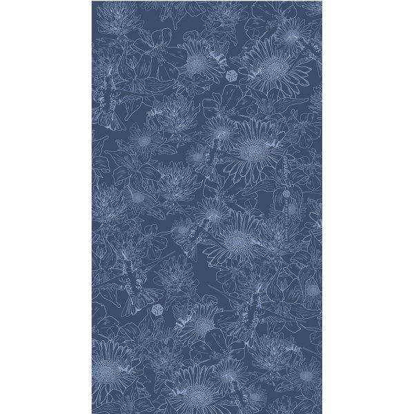 avalon7 blue flower neck gaiter by Katie Cooney Jackson Hole